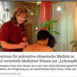 Gesundheitsprävention: Titelfoto Artikel Wiesbadener Kurier