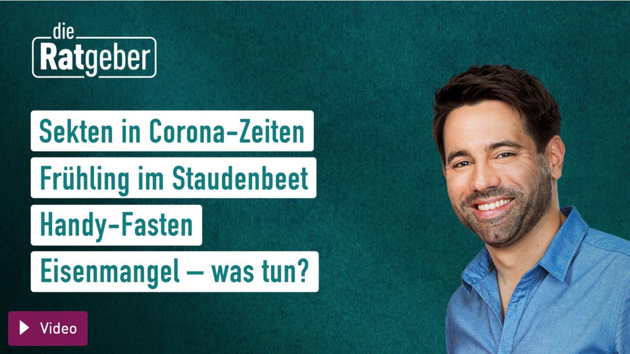 """Eisenmangel: Cover der TV-Sendung """"Die Ratgeber"""""""